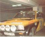 Anders Kullang - Claes-Goran Andersson, Opel Kadett GT-E, retired