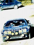 Jean-Luc Therier - Michel Vial, Renault Alpine A310, accidentd