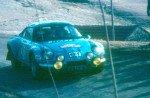 Jean Ragnotti - Jean-Marc Andrie, Renault Alpine A110 1800, retireda