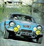 Jean Ragnotti - Jean-Marc Andrie, Renault Alpine A110 1800, retiredz