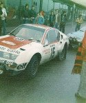 Marie-Claude Beaumont - Christine Giganot, Renault Alpine A310, 84the