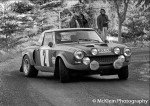 Maurizio Verini - Francesco Rossetti, Fiat 124 Abarth Spider, 15thg