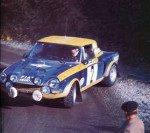 Maurizio Verini - Francesco Rossetti, Fiat 124 Abarth Spider, 15thq