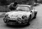 Michel Alibelli - Antoine Pistre, Renault Alpine A110, retired