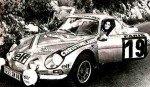 Michele Mouton - Francoise Conconi, Renault Alpine A110 1600, 11thf
