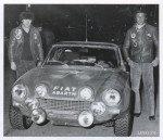 Roberto Cambiaghi - Bruno Scabini, Fiat 124 Abarth Spider, 8thf
