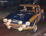 Roberto Cambiaghi - Bruno Scabini, Fiat 124 Abarth Spider, 8thq