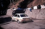 Timo Makinen - Henry Liddon, Ford Escort RS1800, retireda
