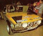 Walter Rohrl - Jochen Berger, Opel Kadett GT-E, 4th